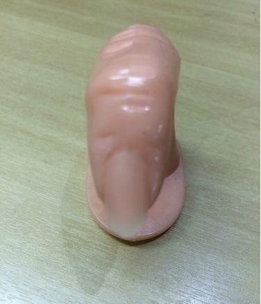 10 dedos postiços treino unha postiça francesinha