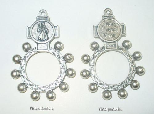 10 denarios decenarios rigidos souvenirs bautismo comunion