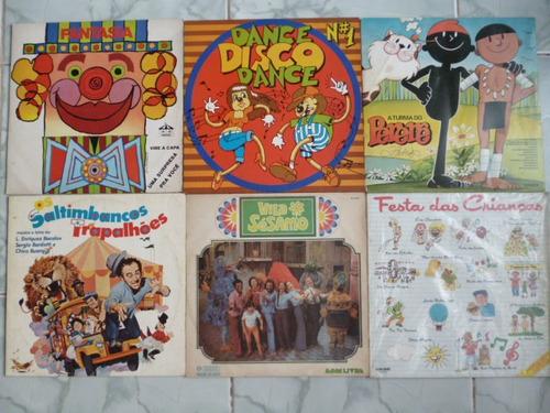 10 discos de vinil anos 70 e 80