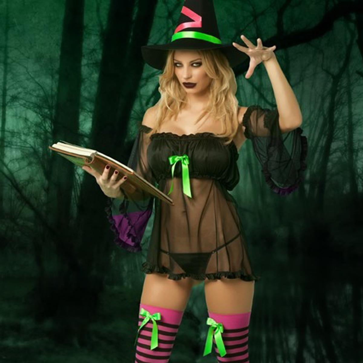 Disfraz de halloween oriental sexy