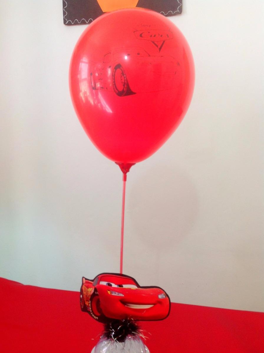 Enfeite De Balão ~ 10 Enfeites De Mesa Carros Porta Balao E Guloseimas R$ 98,00 em Mercado Livre