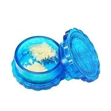 10 espremedores de alho transparente