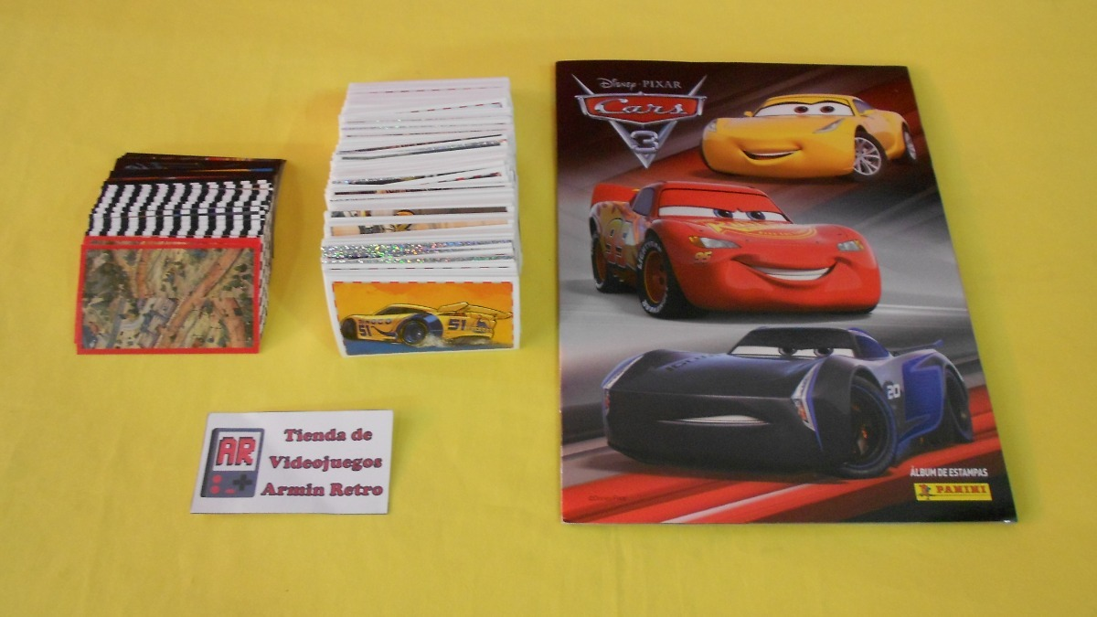 sammelsticker-Sticker x18 Panini-Cars 3
