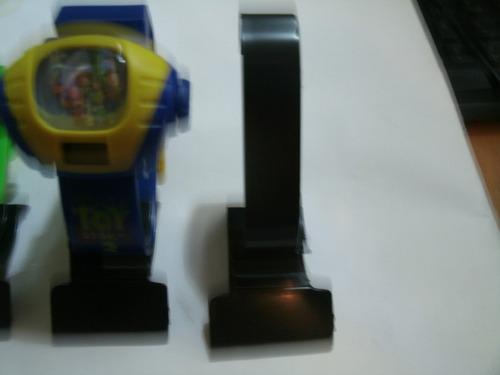 10 expositores em acrílicos de plastico p/ relógio de pulso