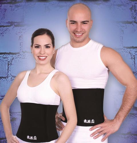 10 fajas reductivas de neopreno fitness line unitalla