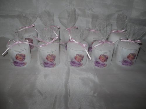 10 fanales souvenirs personalizados bautis. comunion 15 años