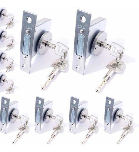 10 fechaduras land auxiliar tetra quadrupla - mesmo segredo