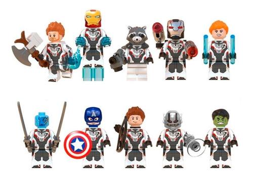 10 figuras avengers endgame compatibles con lego vengadores