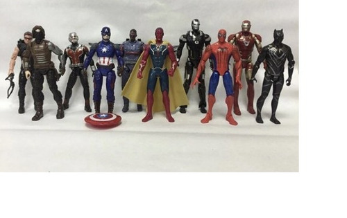 10 figuras marvel avengers somos tienda