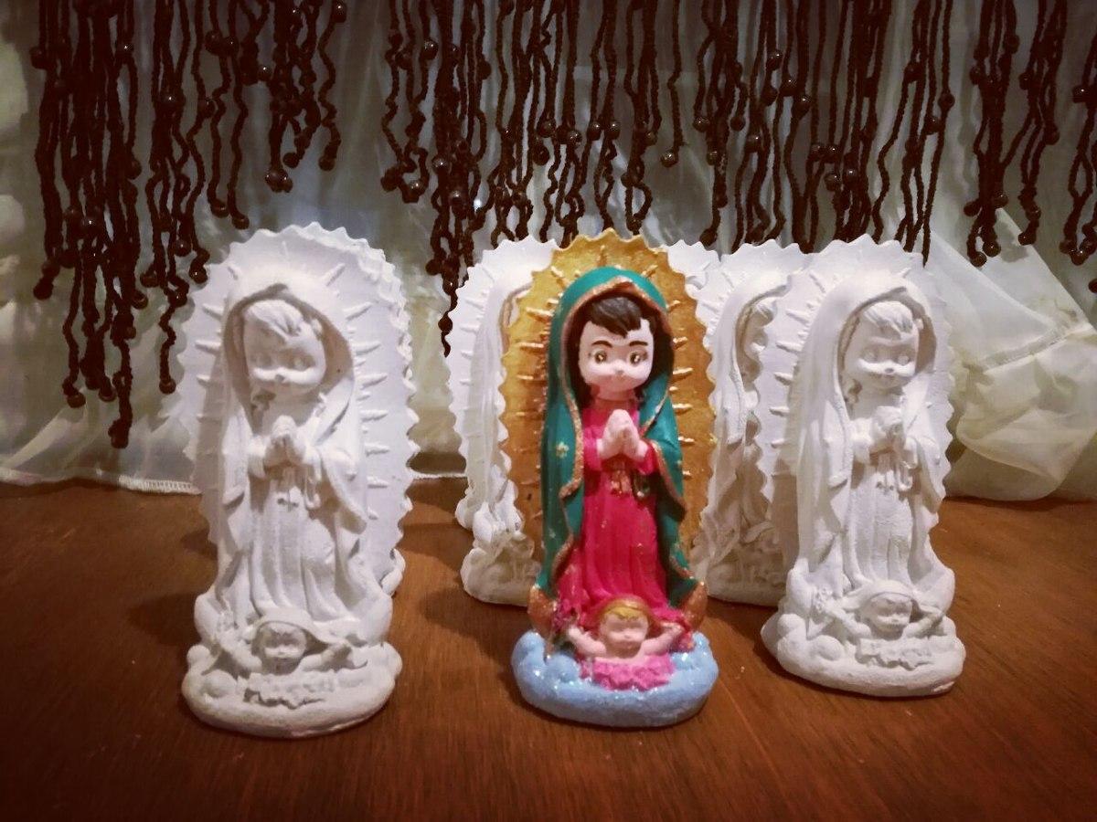 10 Figuras Religiosas Yeso Lista Para Pintar Virgen Santos ...