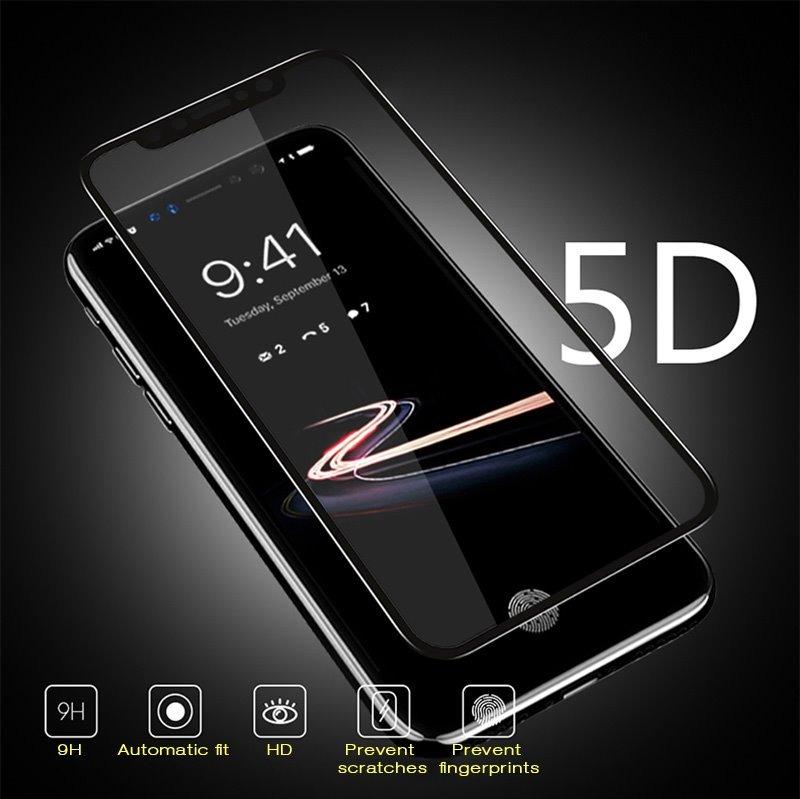 ce9dc6b5328 ... Protectores de Pantalla · iPhone. Compartir. Compartir. Vender uno  igual. 10 film glass vidrios templados 5d iphone x full cover curvo.  Cargando zoom.