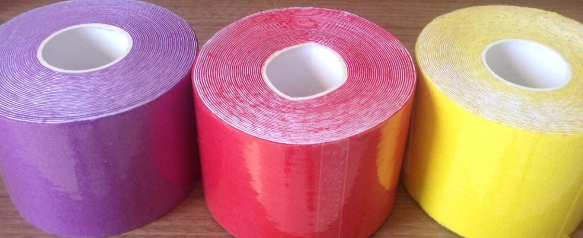 4b04d98cff 10 fita kinesio tape bandagem elástica 5 x 5 pronta entrega. Carregando  zoom.