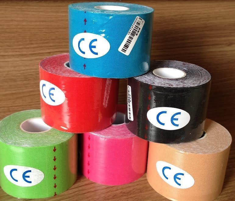 6e4540b4d2 10 Fita Kinesio Tape Bandagem Elástica 5 X 5 Pronta Entrega - R  190 ...