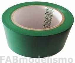 10 fitas decoração verde 48mm x 50 metros  fitpel 1ª linha