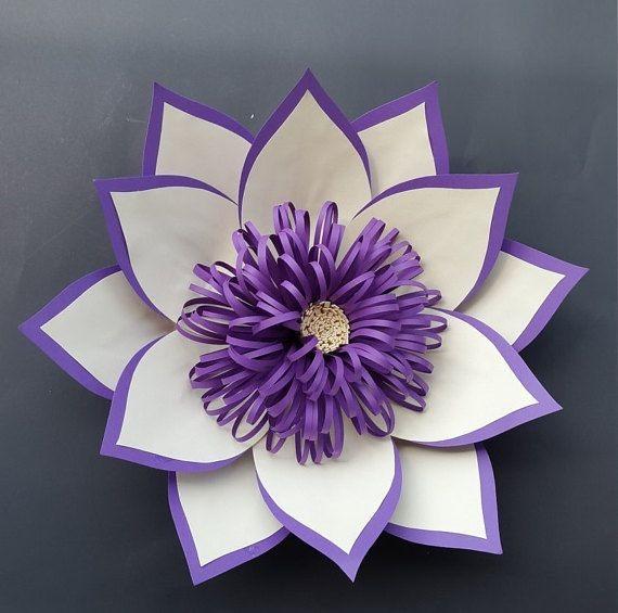 10 Flores En Cartulina Pequenas S 18 00 En Mercado Libre