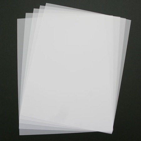 10 folhas filme de polyester para fotolitos (jato de tinta)