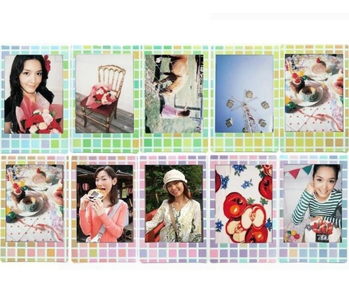 10 fotos fuji instax mini stained glass