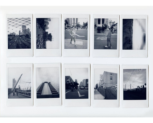 10 fotos instax mini monochrome