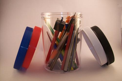 10 frascos de plástico 1600 cc tapa rosca d variados colores