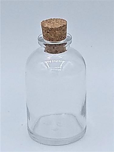 10 frascos de vidro 30ml c/rolha garrafinha penicilina