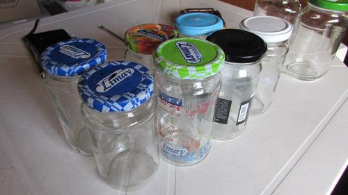 10 frascos fiesta girotap conservas de medio kg