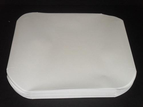 10 fundas interiores de papel para discos de vinilo l p 12''