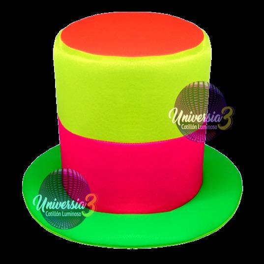 10 Galera 2 Banda Fluo Cotillon Carioca Sombreros Gorros -   629 3510801557c
