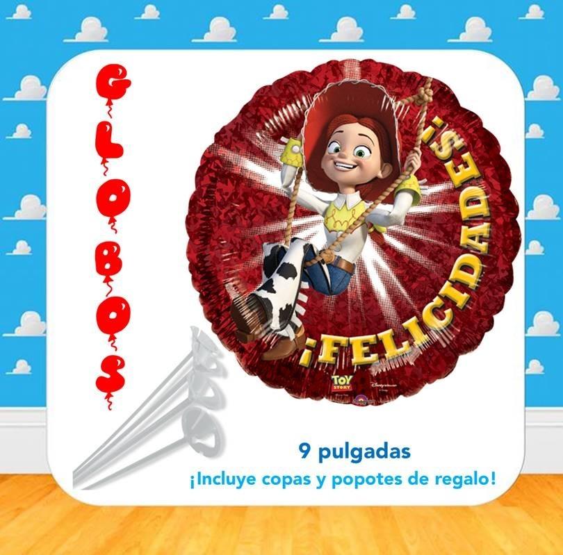 10 Globos Metalicos Jessie Toy Story 9 Pulgadas Oferta -   179.99 en ... b8ef88103c9