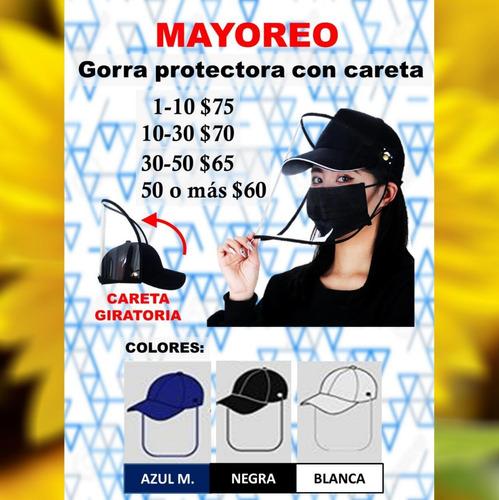 10 gorra careta protectora mekor proteccion con envio