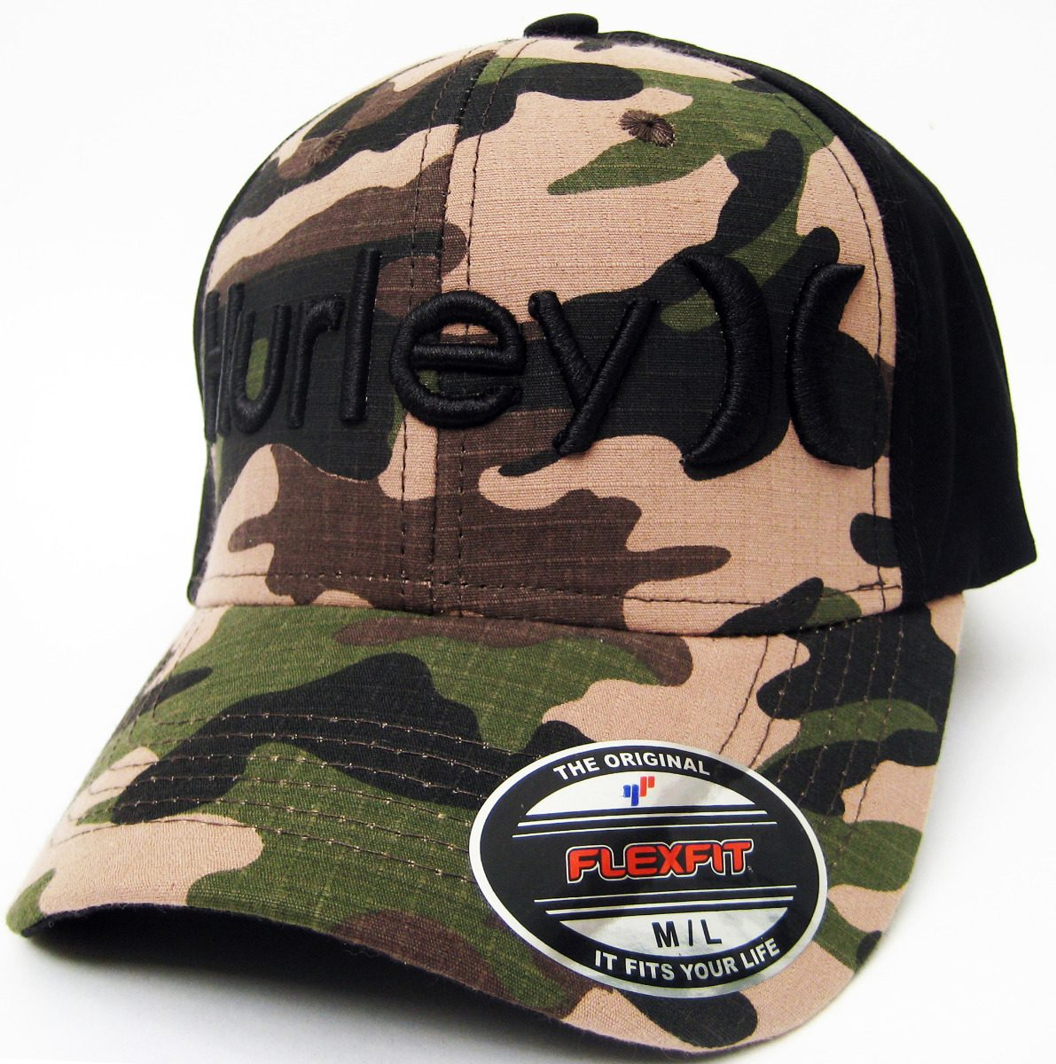 10 Gorras Cerradas Fox Hurley Rvca Volcom Mayoreo Flex -   999.00 en ... 92c97467f17