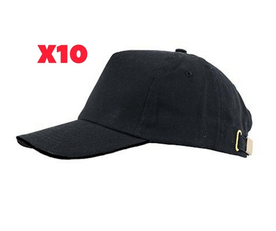 10 gorros lisos negros - ideal para bordar estampar. Cargando zoom. d7d7326462f