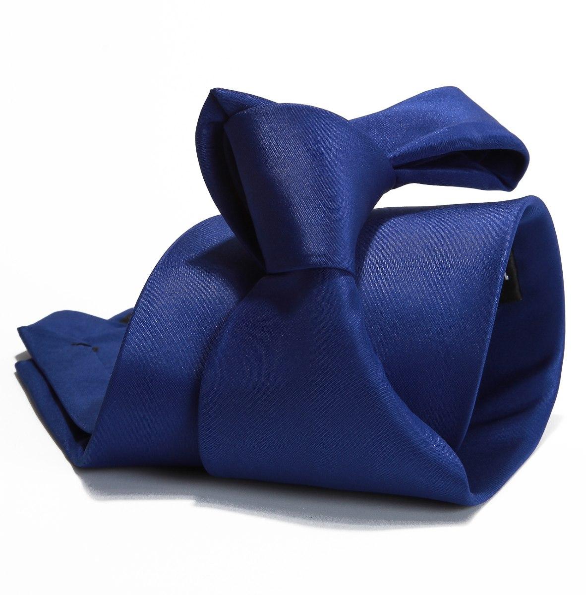 10 Gravata Azul Royal Lisa Acetinada - R  120,00 em Mercado Livre 4402c7dd62