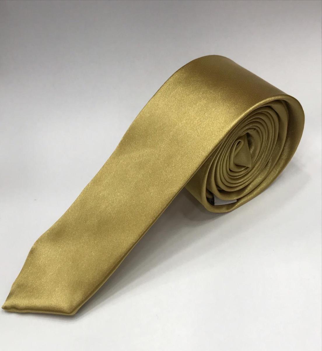 10 gravatas dourada cetim,lisa,slim,padrinhos,congressos. Carregando zoom. 7eb10a0092