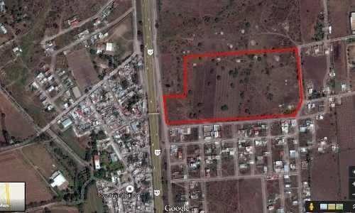 10 hectareas en san isidro a un lado de gasolinera