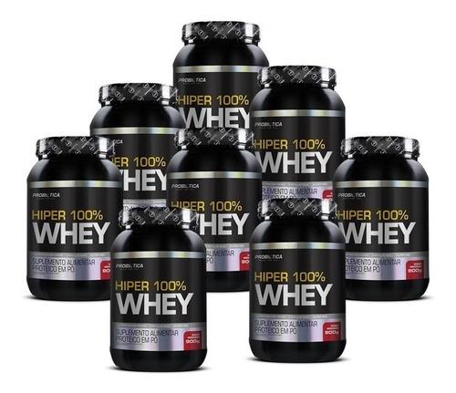 10 hiper 100% whey 900g pote - probiotica