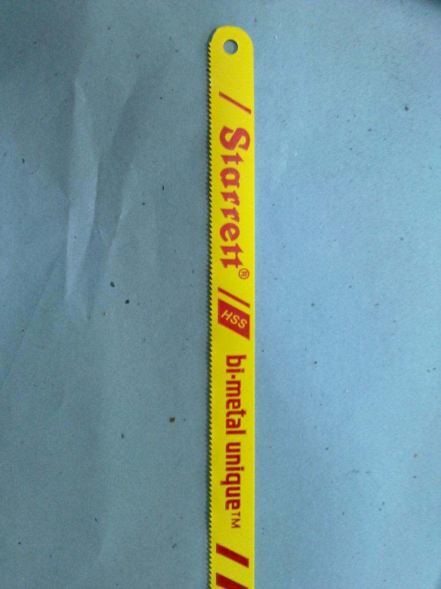 10 hojas de sierra starret de 18 dientes exelente calidad - Hojas de sierra ...