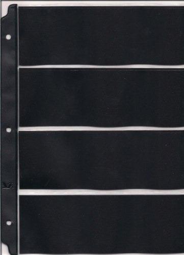 10 hojas para guardar billetes, 4 modelos diferentes, oferta
