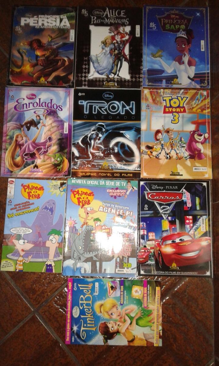 10 Hq Disney Cinema Em Quadrinhos 1 Ao 7 E Outros Novos