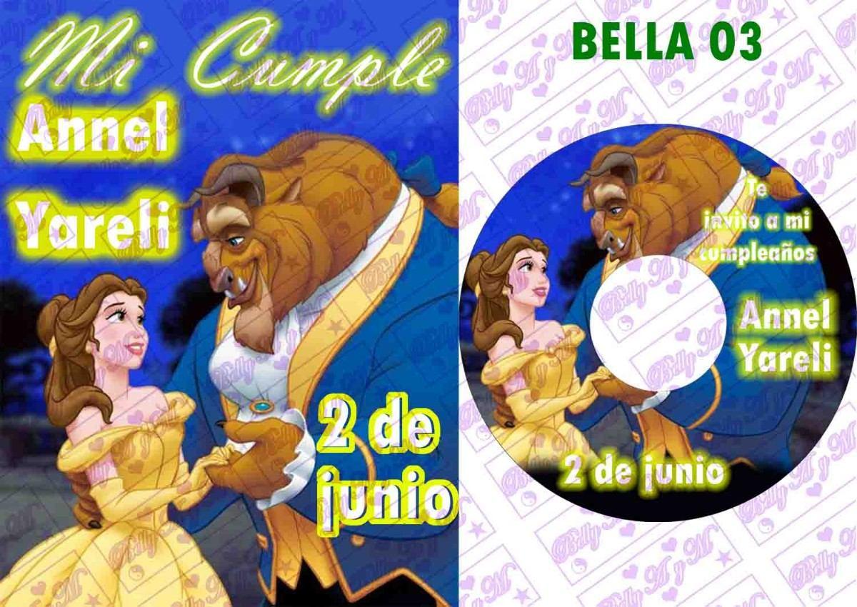 10 Invitaciones Cd Con Tarjeta Cumpleaños Bautizo Bodas