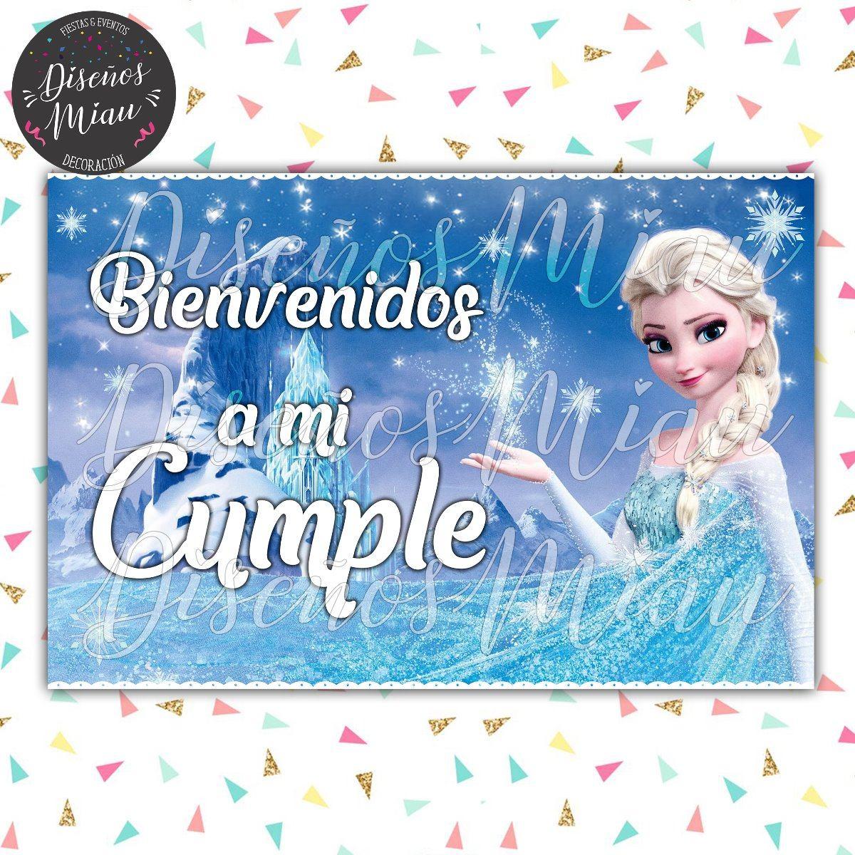 10 Invitaciones Tarjetas Cumpleaños Frozen Ana Y Elsa