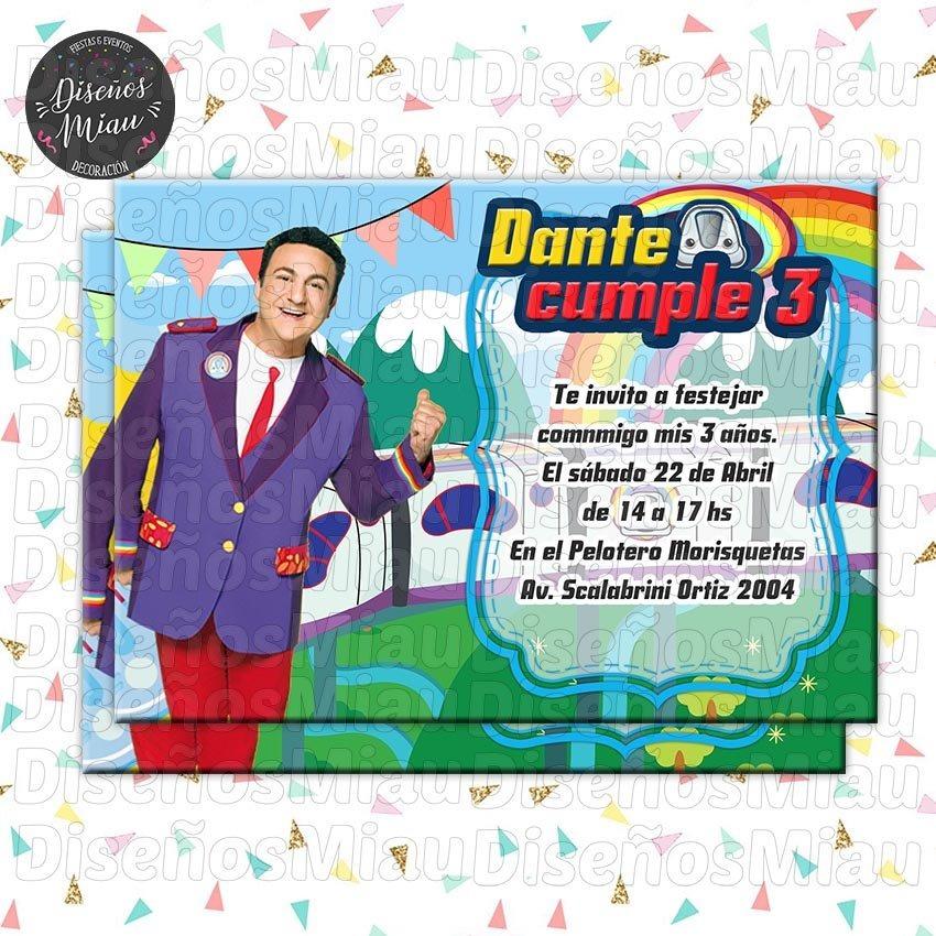 10 Invitaciones Tarjetas Cumpleaños Junior Express Topa