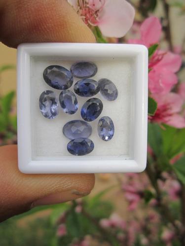 10 iolita claridad si1 envió gratis anillo talisman zafiro