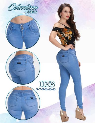 10 jeans levanta pompa push up colombiano tiro alto paquete1