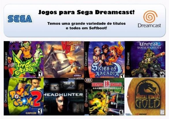 10 Jogos Patch Kit Sega Dreamcast Selfboot