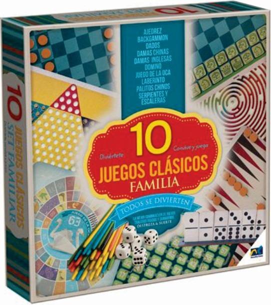 10 juegos clasicos de mesa para toda la familia novelty for 10 negritos juego de mesa