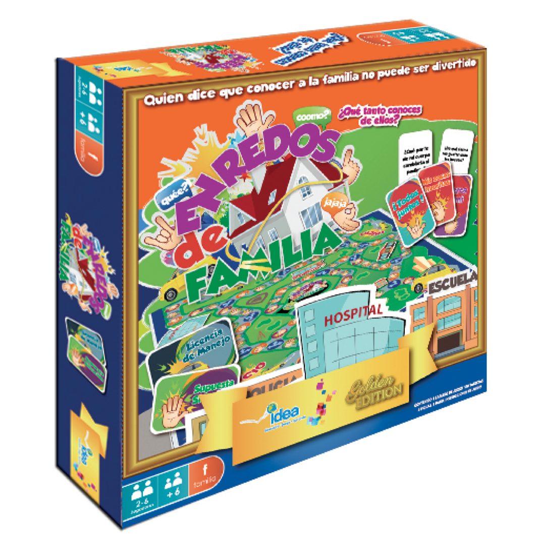 10 Juegos De Mesa Enredos De Familia Envio Gratis 799 00 En