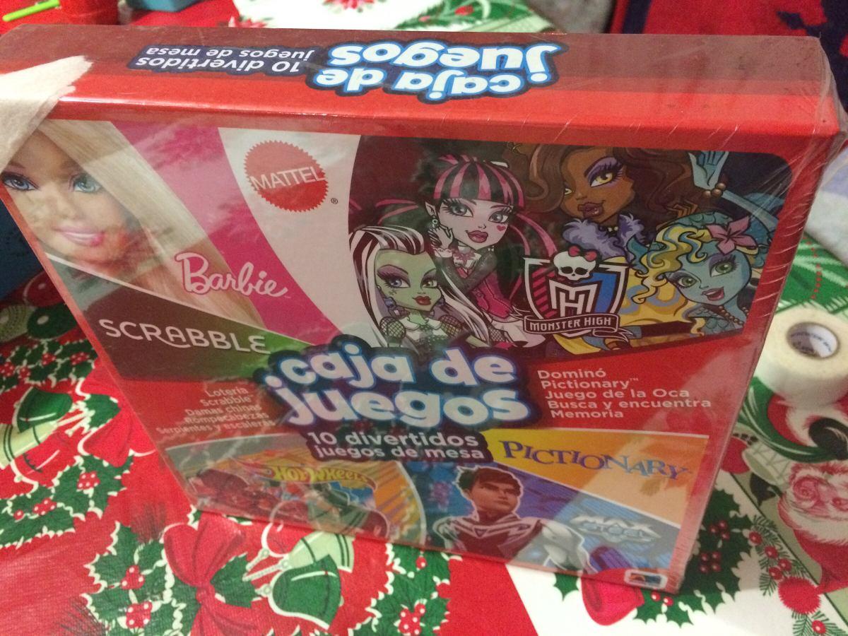 10 Juegos De Mesa Mattel 380 00 En Mercado Libre