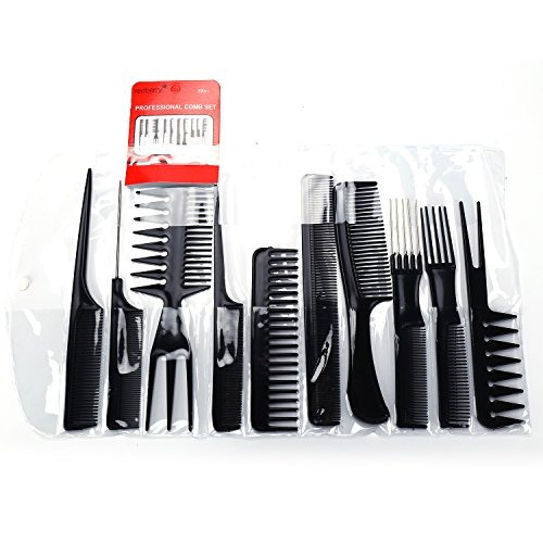 10 juegos de peines para alisar el cabello herramientas de p