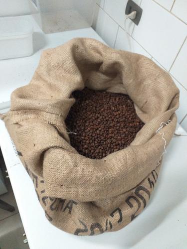 10 kg. cafe tostado alto amazonas peru especialidad 83 pts.