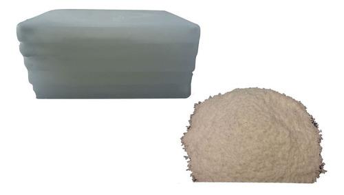 10 kg de parafina china, 1 kg de estearina, pabilo y ficha